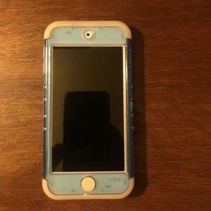 iPod touch 6th gen blue